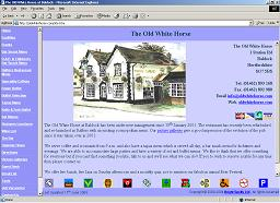 Home Page of Stagecoach Inn Website